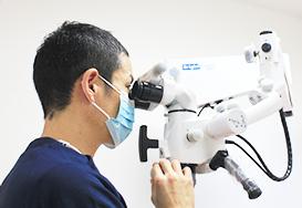 拡大視野で歯科治療精度が向上
